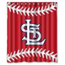 Curtains St Louis St Louis Cardinals Jersey Shower Curtain St Louis Cardinals