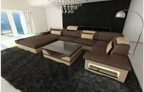 big sofa u form details about big sectional leather sofa bellagio
