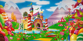 candyland castle candyland wallpaper free