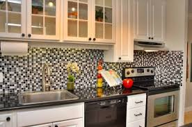 black and white kitchen backsplash 75 kitchen backsplash ideas for 2018 tile glass metal etc