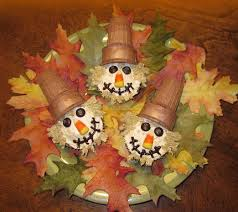 scarecrow cupcakes fun family crafts