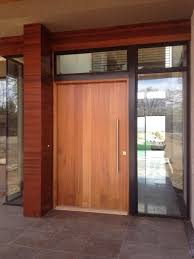 Wood Door Exterior Modern Exterior Front Doors Freda Stair