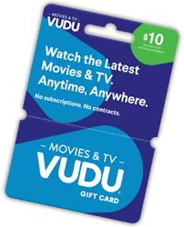 gift cards with no fees vudu vudu gift cards