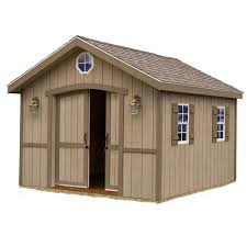 Backyard Shed Kits by Best Barns Wood Sheds Sheds The Home Depot