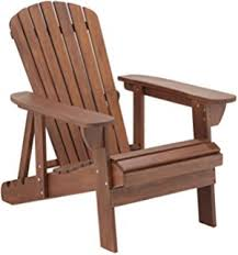 amazon com lifetime faux wood adirondack chair light brown