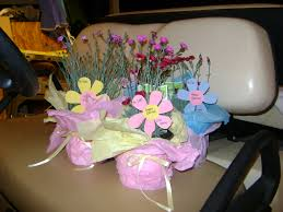 easter gifts for teachers perennials wrapped in tissue paper