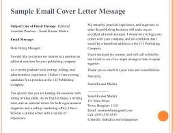 publishing editor cover letter