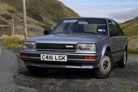 nissan langley 1985 1986 nissan bluebird 2 0slx road test youtube