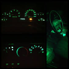 yellow jeep interior tj dash lights mod easy and cheap jeep wrangler forum jeep