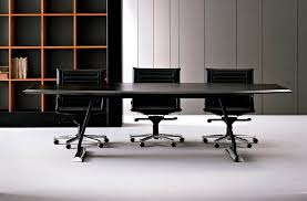 Black Boardroom Table Contemporary Boardroom Table Tempered Glass Rectangular