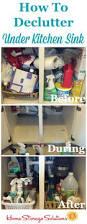 kitchen cabinet cleaning tips best 25 under kitchen sinks ideas on pinterest kitchen cabinets