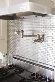 best 25 stainless steel backsplash tiles ideas on pinterest