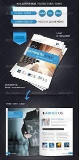 brochure templates free indesign 100 free premium brochure templates photoshop psd indesign ai