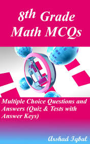 8th grade math mcqs multiple choice questions and answers quiz