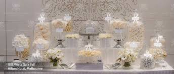 Candy Table For Wedding Elegant White Candy Table For The Home Pinterest Candy Table