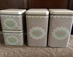Canisters For Kitchen Counter by Pantry Storage Etsy