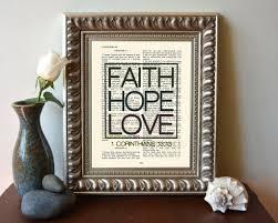 faith hope love 1 corinthians 13 13 bible page christian art