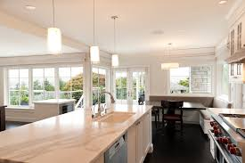 Lighting Kitchen Pendants Pendant Lights Kitchen Kitchen Transitional With Banquette Black