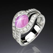 pink star diamond ring jewelry design portfolio