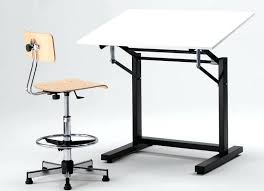 Metal Drafting Table 1910 Cast Iron Drafting Table With Acrylic Top Urban Archaeology
