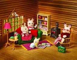 Sylvanian Families Cosy Living Room Furniture Amazoncouk Toys - Sylvanian families living room set