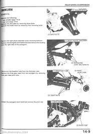 1986 1989 honda trx350 d fourtrax foreman atv repair manual