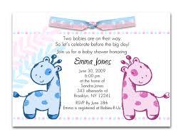 Order Invitation Cards Twin Baby Shower Invite Vertabox Com