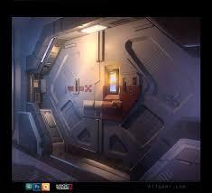Futuristic Doors by Artstation Sci Fi Door Anthony Trujillo