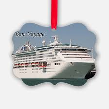 cruise ship ornament cafepress