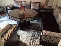 canapé salon marocain canapés de salon marocain en bois décor salon marocain