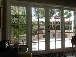 interesting modern french doors interior design feature gray wall