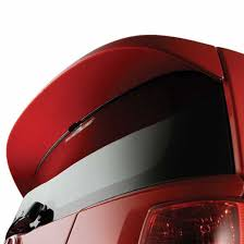 2009 2010 toyota corolla rear spoiler classic silver metallic
