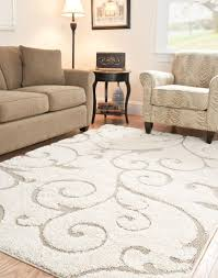 decorating shag sg455 safavieh rugs in white with floral pattern