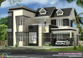 2745 sq ft 4 bedroom modern dormer window home kerala home