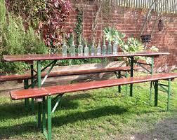 German Beer Garden Table by Beer Garden Etsy
