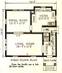 center colonial floor plan colonial sears modern homes