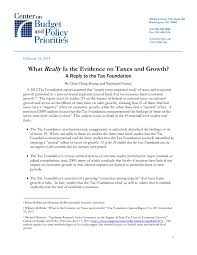 sample of significance of study in research paper what really is the evidence on taxes and growth center on