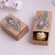 peacock favors 100sets lot jeweled peacock favor boxes peacock themed bridal