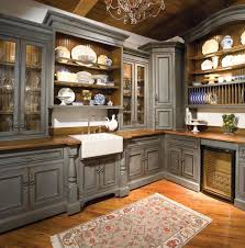 Kitchen Appliance Storage Ideas Kitchen Traditional Kitchen Appliance Storage Cabinet Gray Painted