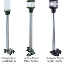 boat lights at night rules anchor lights requirements boattech boatus