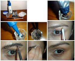 beautiful me plus you how to tint eyebrows step by step