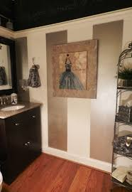 The Powder Room Powder Room With Chalkboard Paint A Stylish Interior