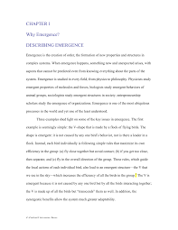 generative emergence book chapter 1 why emergence pdf