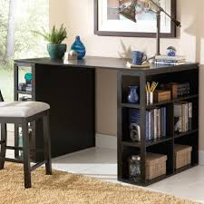 Steve Silver Bradford Contemporary Writing Desk With Side Shelf