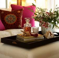 ottoman trays home decor ottoman tray decor decorating sense pinterest tray decor