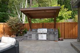 outdoor kitchen roof ideas outdoor kitchen traditional patio portland by all oregon