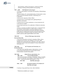 Medical Laboratory Technologist Resume Sample by Medical Technologist Resume Example Medical Assistant Resume
