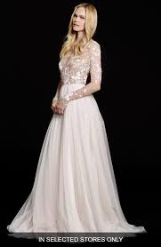 wedding dress hayley remmington embellished net gown nordstrom