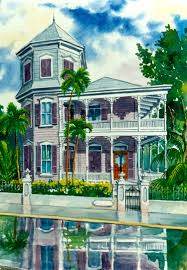 gk houses historic houses of key west artwwork by g k salhofer