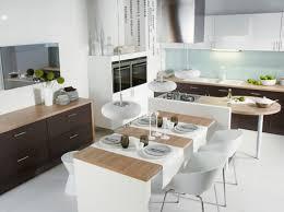 cuisine avec table à manger modele de cuisine ouverte sur salle a manger deco 3 choosewell co